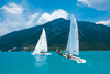 Wonderful conditions for sailing on the Achensee